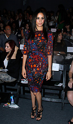 Meghan Markle appears in the front row at Tracy Reese during the MBFW Spring/Summer 2014 presentations at Lincoln Center in New York City, NY, USA on September 8, 2013. Photo by Donna Ward/ABACAPRESS.COM  | 413421_004 New York City Etats-Unis United States