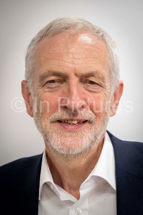 Jeremy Corbyn MP, Leader of the Labour Party at the PCS annual delegate conference in 2019 in Brighton, United Kingdom.