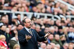 Newcastle United manager Rafa Benitez - Rogan Thomson/JMP - 25/02/2017 - FOOTBALL - St James' Park - Newcastle, England - Newcastle United v Bristol City - Sky Bet EFL Championship.
