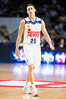 Real Madrid's player Jaycee Carroll during match of Liga Endesa at Barclaycard Center in Madrid. September 30, Spain. 2016. (ALTERPHOTOS/BorjaB.Hojas)