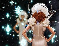 Boudicca show at London fashion week.