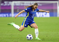 Chelsea's Fran Kirby in action during the UEFA Women's Champions League final, at Gamla Ullevi, Gothenburg. Picture date: Sunday May 16, 2021.