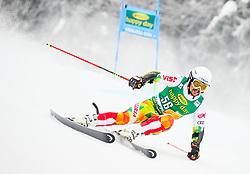 Albert Popov of Bulgaria competes during 1st run of Men's GiantSlalom race of FIS Alpine Ski World Cup 57th Vitranc Cup 2018, on March 3, 2018 in Kranjska Gora, Slovenia. Photo by Ziga Zupan / Sportida