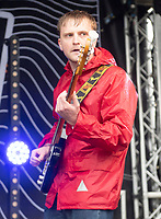 Hotel Lux live at the  Bigfoot Festival   Ragley Hall Warwickshire one of the first festivals to open successfully in 2021,photo by Brian Jordan