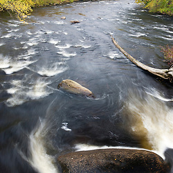 The Ashuelot River in Ashuelot, New Hampshire. Fall.