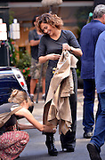 Aug. 25, 2015 - New York City, NY, USA - <br /> <br /> Actress Jennifer Lopez on the set of the new TV show 'Shades of Blue' on August 25 2015 in New York City <br /> ©Exclusivepix Media