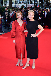 Stephanie Kurtzuba and Welker White attending the Closing Gala and International premiere of The Irishman, held as part of the BFI London Film Festival 2019, London.