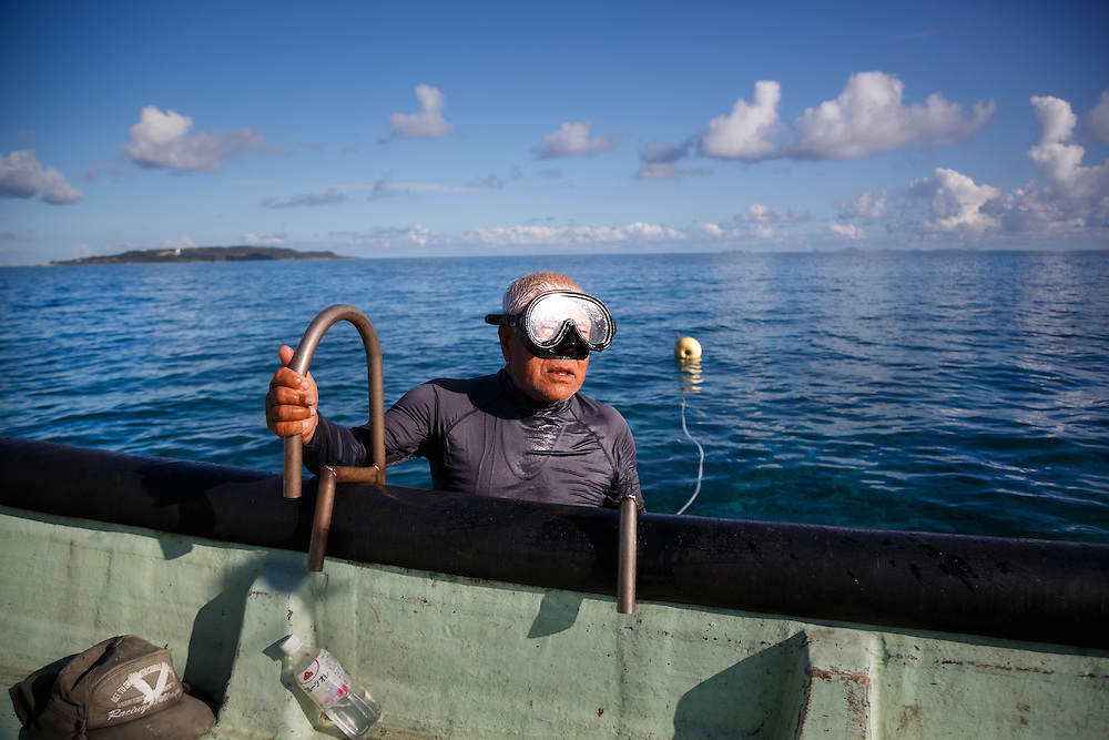 Kakusei Yamashiro, 84, an octopus fisherman who spends nearly eight hours every day free-diving with a spear gun, acknowledges a typical Ogimi diet of nutrient-rich foods like sweet potatoes, fish and seaweed plays a role in his good health. But he insists daily physical activity is vital, saying he might keep diving until he's 90.