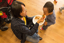 Lordship Hub Co-Op Parents/Carers & Toddlers Group, London Borough of Haringey, North London UK, with volunteers & parents/carers