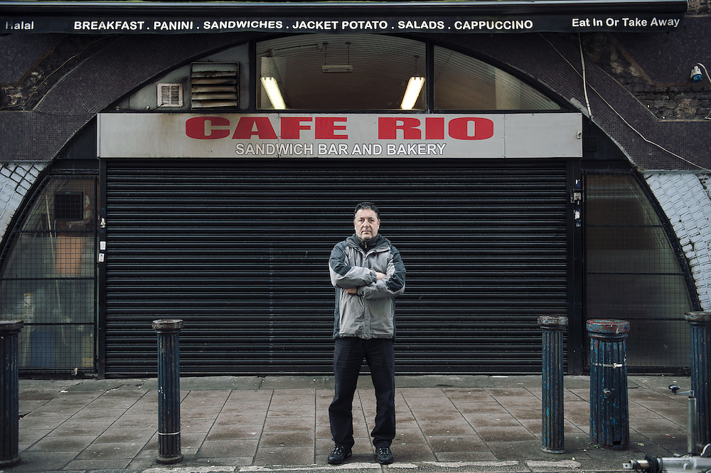 Cafe Rio <br /> 30 Brixton Station Road<br /> <br /> Mohamed Kheddache opened Cafe Rio 9 years ago.