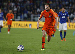 June 4, 2018 - Turin, Italy - Daley Blind  during the International Friendly match between Italy v Holland at the Allianz Stadium on June 4, 2018 in Turin, Italy. (Credit Image: © Loris Roselli/NurPhoto via ZUMA Press)