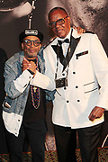 New York, NY- May 22: (L-R) Director Spike Lee & Documentary Photographer Jamel Shabazz (Honoree) attends the Gordon Parks Foundation Awards Dinner & Auctionn: Celebrating the Arts & Humanitarianism held at Cipriani 42nd Street on May 22, 2018 in New York City.   (Photo by Terrence Jennings/terrencejennings.com)
