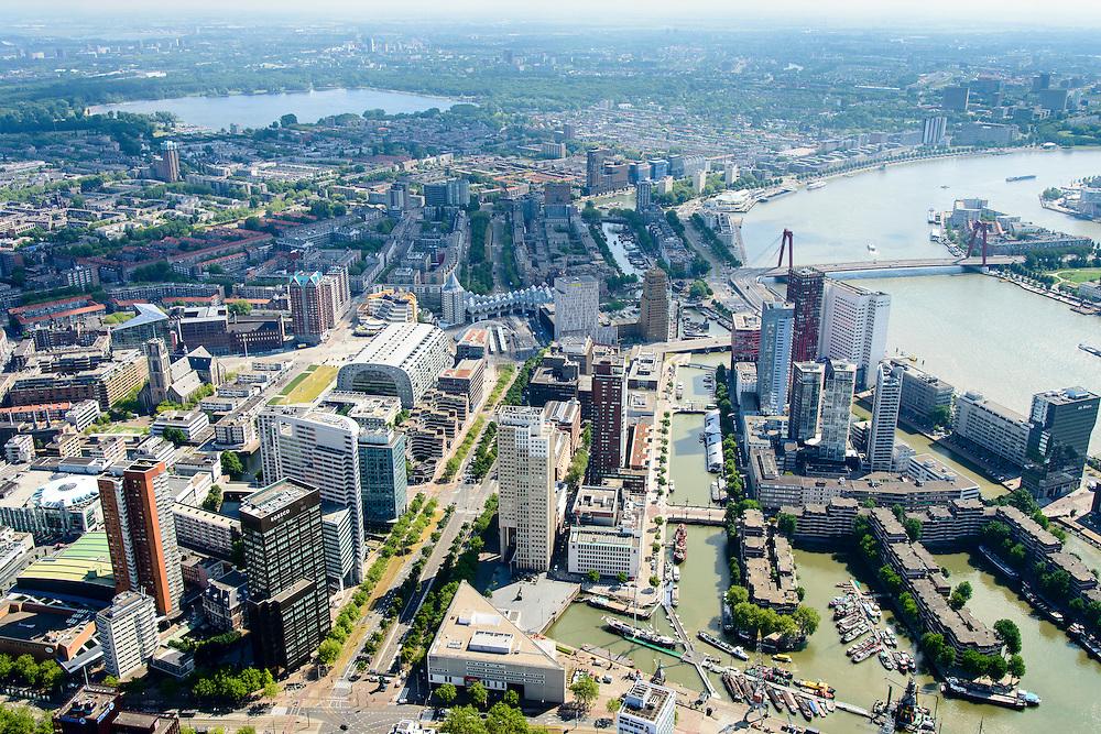 Nederland, Zuid-Holland, Rotterdam, 10-06-2015;<br /> <br /> QQQ<br /> luchtfoto (toeslag op standard tarieven);<br /> aerial photo (additional fee required);<br /> copyright foto/photo Siebe Swart