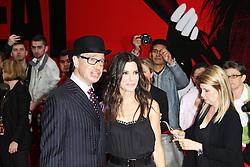 © Licensed to London News Pictures. 13/06/2013. Paul Feig; Sandra Bullock at The Heat gala screening, Curzon Mayfair cinema, London UK, 13 June 2013. Photo credit : Richard Goldschmidt/Piqtured/LNP