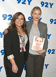 """Rachael Ray and Cameron Diaz attends the Cameron Diaz In Conversation with Rachael Ray about Cameron's new book """"The Longevity Book"""" on April 5, 2016 at the 92nd Street Y in New York City, New York, USA. EXPA Pictures © 2016, PhotoCredit: EXPA/ Photoshot/ Robin Platzer/Twin Images<br /> <br /> *****ATTENTION - for AUT, SLO, CRO, SRB, BIH, MAZ, SUI only*****"""