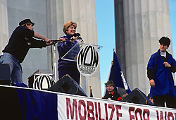 Evelyn Murphy Speaking At Now Rally  (National Organization For Women)