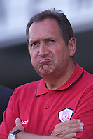 Fotball Liverpool's manager Gerard Houllier in pensive mood. (Foto: Digitalsport).