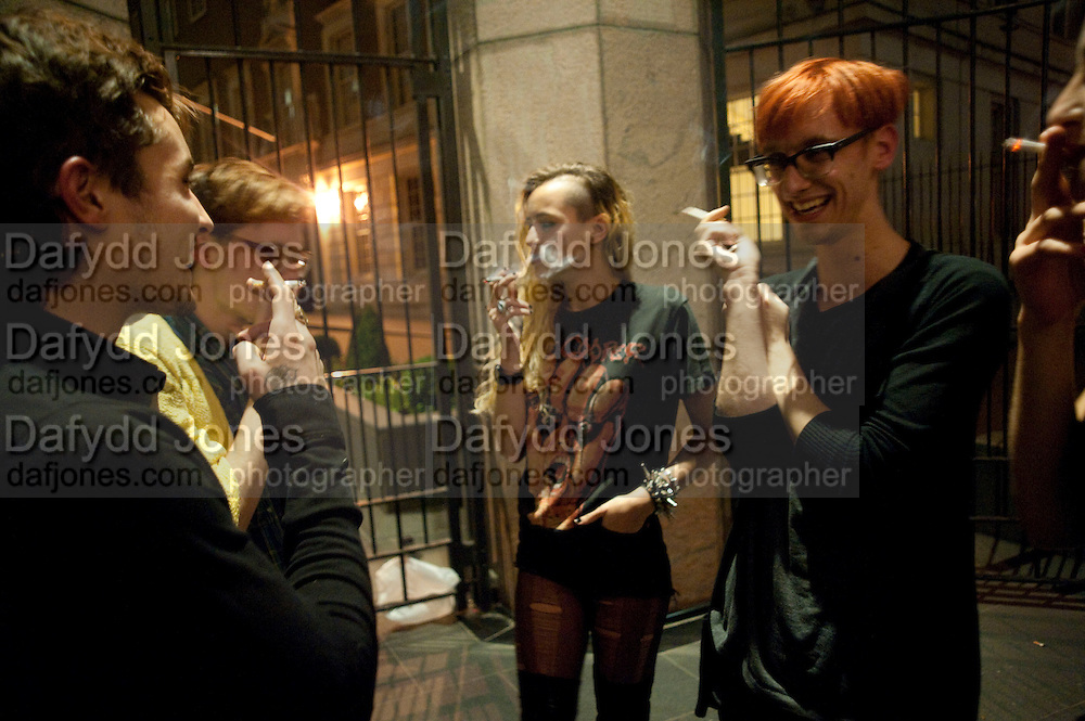 ALICE DELLAL; , Proud Cabaret launch. Mark Lane. London. EC3. 3 November 2009