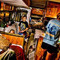 California car dwellers by Chris Maluszynski