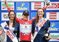 08.07.2012, Universitaetsring, Wien, AUT, 64. Oesterreich Rundfahrt, 8. Etappe, Podersdorf am Neusiedler See - Wien, im Bild Alessandro Bazzana (ITA, Sieger Gesamtpunkte, Team Type 1 - Sanofi) // winner overall score Team Type 1 - Sanofi driver Alessandro Bazzana of Italy  during the 64th Tour of Austria, Stage 8, from Podersdorf/Neusiedlersee to Vienna, Vienna, Austria on 20120708, EXPA Pictures © 2012, PhotoCredit: EXPA/ M. Gruber