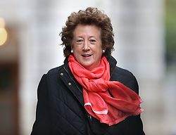 © Licensed to London News Pictures. 01/12/2015. London, UK Minister of State at the Foreign & Commonwealth Office, BARONESS ANELAY arrives for a Cabinet meeting ahead of a vote in Parliament on bombing IS targets in Syria. Photo credit: Peter Macdiarmid/LNP