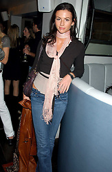 Model MARIE DONOHUE at the launch of a new bar Bardo, 101-105 Walton Street, London SW3 on 29th November 2005.<br /><br />NON EXCLUSIVE - WORLD RIGHTS