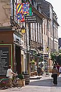 Wine shop. Beaune, cote de Beaune, d'Or, Burgundy, France