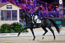 Fry Charlotte, GBR, Everdale<br /> European Championship Dressage - Hagen 2021<br /> © Hippo Foto - Dirk Caremans<br /> 09/09/2021