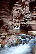 Deer Creek cutting through the Tapeats layer in the Grand Canyon