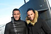 Het 538-programma 'De Frank en Vrijdagshow' van radio dj Frank Dane maakt vrijdag 20 januari hun  radioshow vanuit een varende onderzeeër. Dit is nog niet eerder gedaan op Nederlandse radio.<br /> <br /> Op de foto:  Dj's Sunnery James & Ryan Marciano