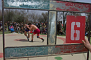 A wrestling match hosted by the Turkish NATO contingent in Kabul.