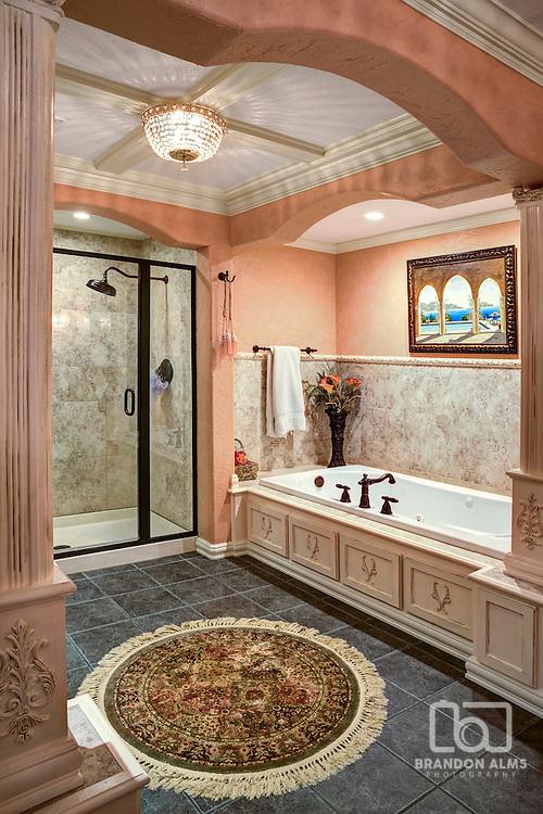 Luxury Bathroom photo by Brandon Alms Photography