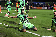 Forest Green Rovers v Carlisle United 191220