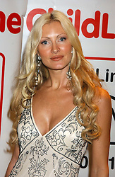 Model CAPRICE BOURRET  at the children's charity ChildLine 19th Birthday Ball held at the Grosvenor House Hotel, Park Lane, London on 29th October 2005.<br /><br /><br />NON EXCLUSIVE - WORLD RIGHTS