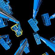 Terex Aerial Work Platforms - Genie Lift custom photography