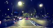 SHOCKING MOMENT GIANT TREE FALLS ONTO MOVING CAR<br /> <br /> This is the terrifying moment a car was cruising down the motorway before getting flattened by a 50 ft tall falling TREE .<br /> <br /> The driver of the pink Honda Jazz was overtaking a line of waiting cars in the left-hand lane on  Tuesday evening in Singapore.<br /> <br /> Moments later the enormous sea apple tree comes toppling down after being weakened by earlier thunder storms and heavy rain.<br /> <br /> It crushed a white van in the left lane and damaged the red Honda but incredibly, nobody was injured.<br /> <br /> Stunned onlooker Gilbert Teo said police closed the road while the mess of branches and leaves were cleared after the collapse at 8pm.<br /> <br /> He added: ''I was stuck maybe about 10 to 15 mins and I took a detour into Jalan Anggerek to make my way home.''<br /> <br /> Authorities cleared away the fallen tree from the city's Aljunied Road after some two hours, according to the The Singapore Civil Defence Force.<br /> ENDS<br /> <br /> ©Exclusivepix Media