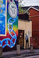 Ireland History on the streets of Belfast