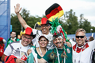 Fans before the 2018 FIFA World Cup Russia, Group F football match between Germany and Mexico on June 17, 2018 at Luzhniki Stadium in Moscow, Russia - Photo Thiago Bernardes / FramePhoto / ProSportsImages / DPPI