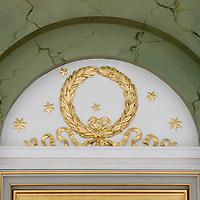 Festsalen på Randers Statsskole - er blevet renoveret