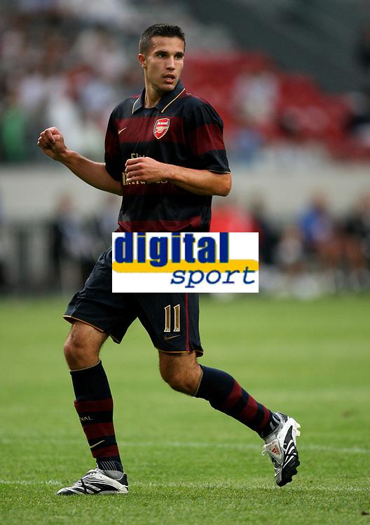 Photo: Maarten Straetemans.<br /> Arsenal v Lazio. LG Amsterdam Tournament. 02/08/2007.<br /> Robin Van Persie (Arsenal)
