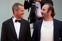 Vincent Macaigne, Guillaume Canet at the premiere gala screening of the film Doubles Vies (Non Fiction)  at the 75th Venice Film Festival, Sala Grande on Friday 31st August 2018, Venice Lido, Italy.
