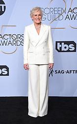 2019 SAG Awards - Pressroom. 27 Jan 2019 Pictured: Glenn Close. Photo credit: OConnor-Arroyo / AFF-USA.com / MEGA TheMegaAgency.com +1 888 505 6342