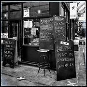 Federation Coffee, Brixton Village in Lockdown