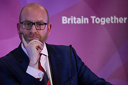 © Licensed to London News Pictures. 28/04/2017. London, UK. UK Independence Party Leader Paul Nuttall launches the national election campaign of the UK Independence Party at Marriott County Hall in central London.. Photo credit : Stephen Chung/LNP