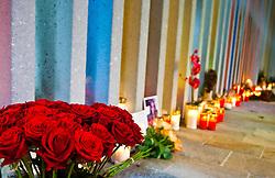 11.11.2010, Gedenkstätte, Kaprun, AUT, Kaprun Katastrophe, 10 Jahre Gedenkfeier, im Bild Innenansicht der Gedenkstätte, mit Kränzen, Blumen und Kerzen// inside Memorial Place with Candles and Flowers during the 10th Anniversery of the Kaprun Desaster, EXPA Pictures © 2010, PhotoCredit: EXPA/ J. Feichter / SPORTIDA PHOTO AGENCY
