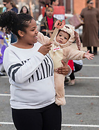Middletown, New York - Children  enjoy the YMCA of Middletown's Halloween Fall Festival at The Center for Youth Programs on Oct. 28, 2017.