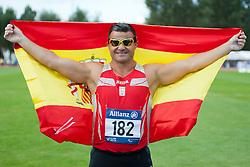CASINO David, 2014 IPC European Athletics Championships, Swansea, Wales, United Kingdom