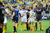 Joie Eric DE CROMIERES - 18.04.2015 - Clermont / Saracens - 1/2Finale European Champions Cup<br />Photo : Jean Paul Thomas / Icon Sport