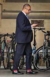 © Licensed to London News Pictures. 20/06/2019. London, UK. JAMES CLEVERLY MP is seen at the Houses of Parliament in London . Further candidates are expected to drop out of the race to be the next Prime Minister over the next two days, leaving two, in a series of votes held by Conservative MPs at Parliament. Photo credit: Ben Cawthra/LNP