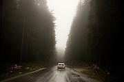 Sarajevo to Zvornik highway, on route to Belgrade.<br /> <br /> October 2013.